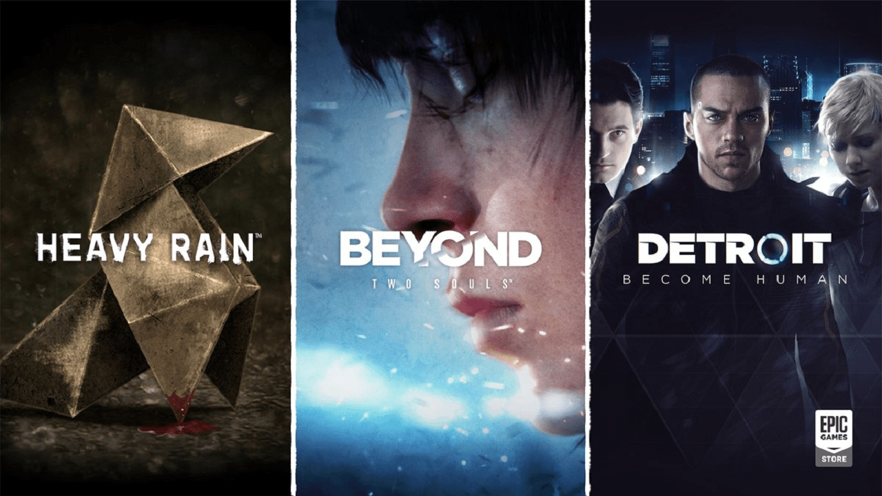 Heavy Rain, Beyond e Detroit Become Human in esclusiva sull'Epic Games Store