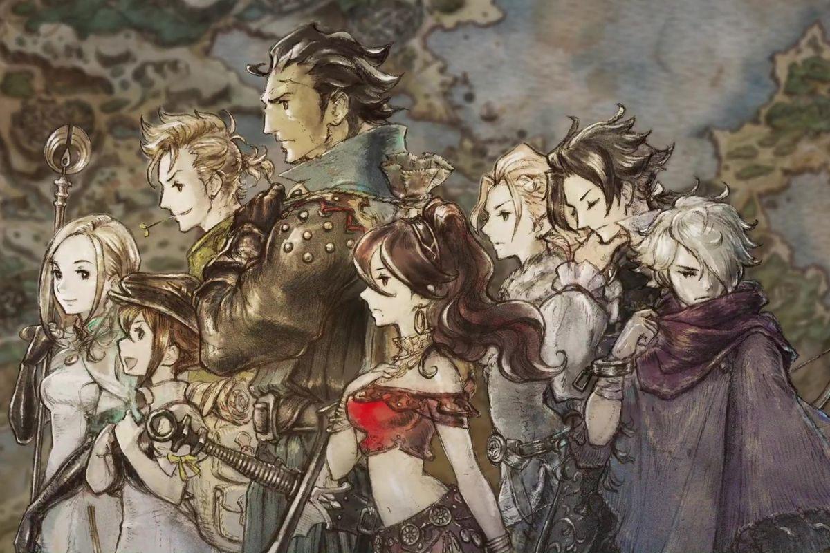 Square Enix apre i pre-order di Octopath Traveler