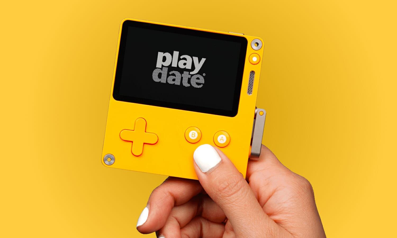 Ecco la Playdate, la nuova console portatile...a manovella