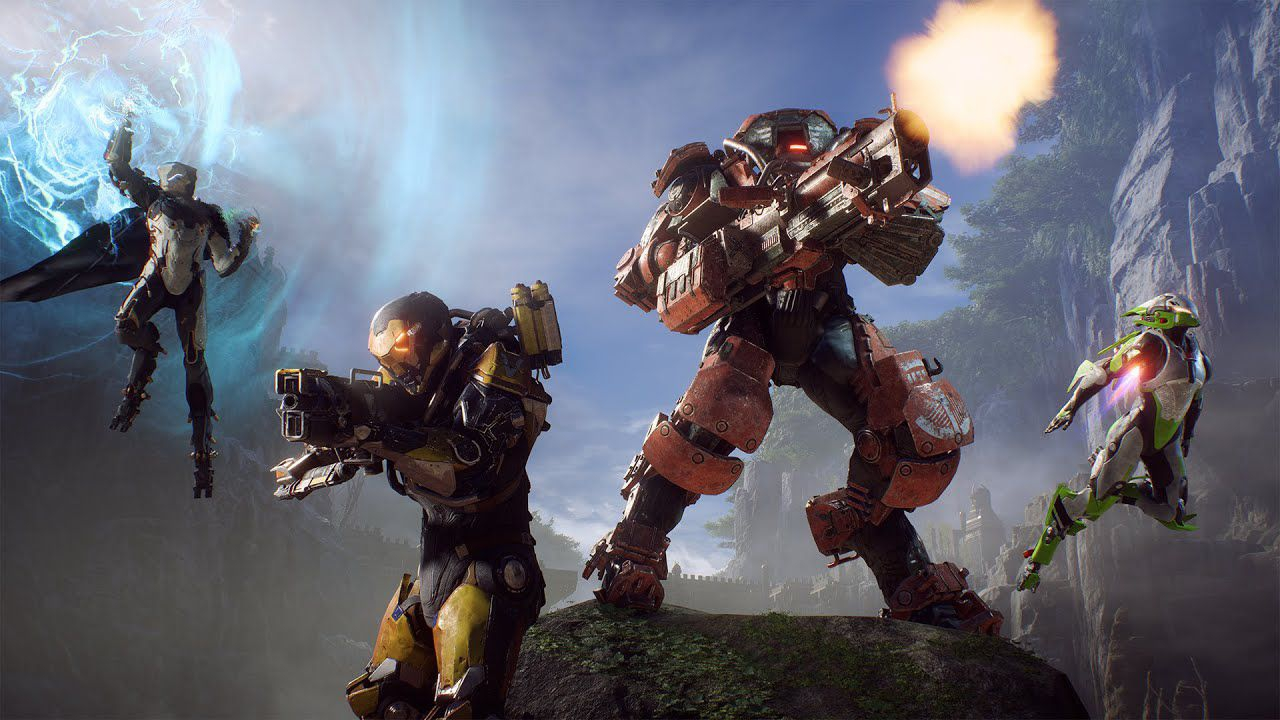 Anthem esce dalla top 50 su Xbox One