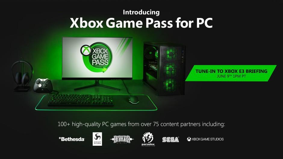 Xbox Game Pass sbarca anche su PC