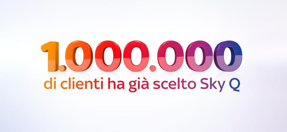 Un milione di Sky Q in Italia
