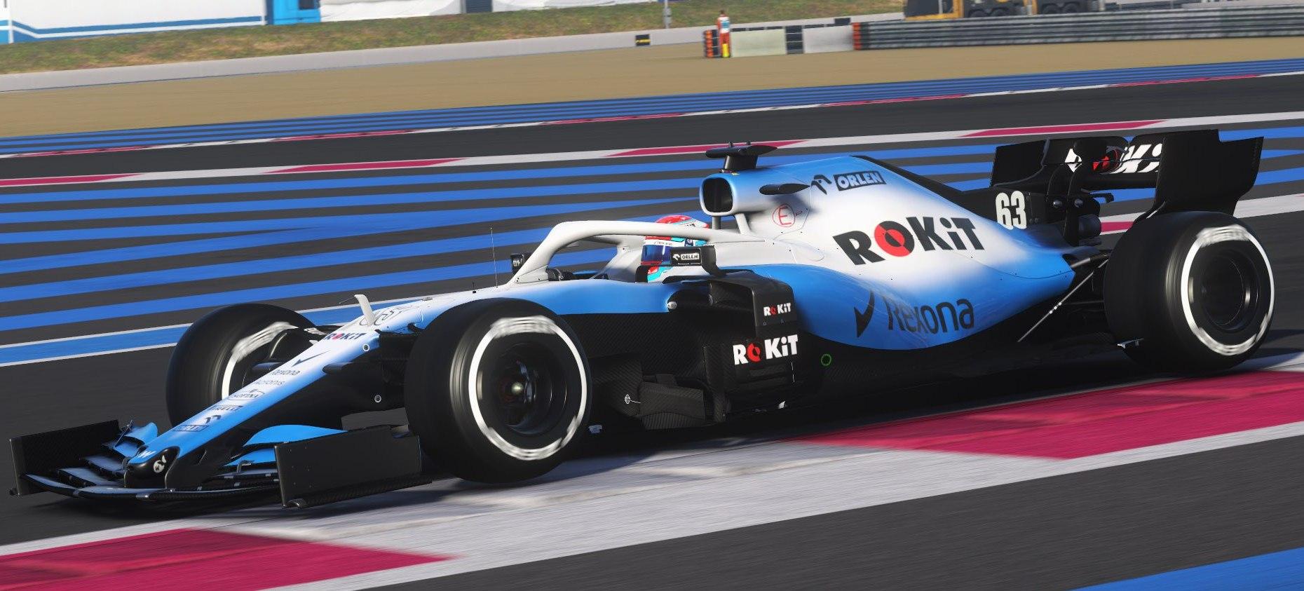 F1 2019 corre in nuove immagini