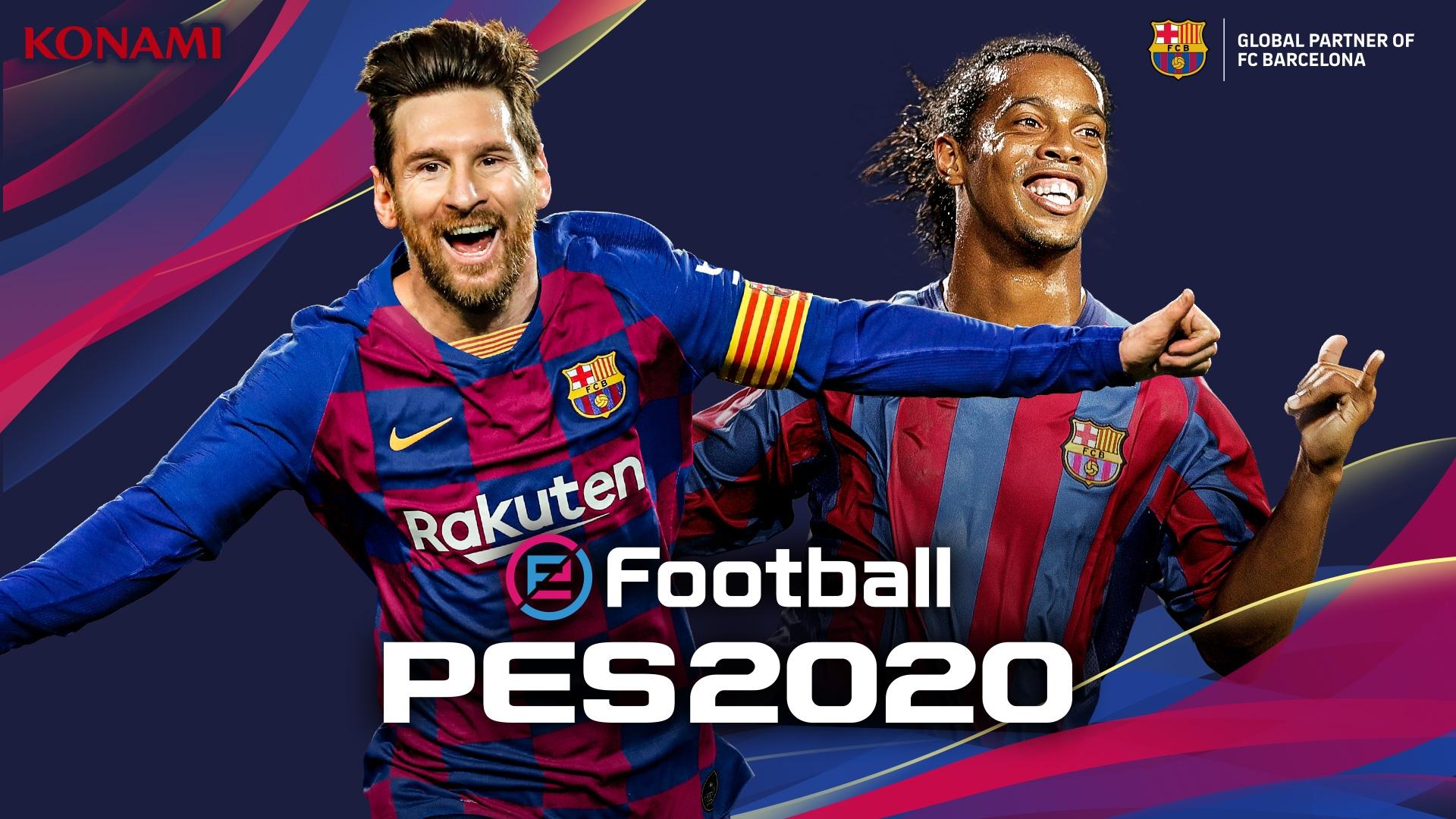 Annunciato ufficialmente PES 2020