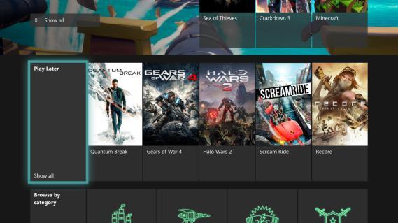 """Microsoft aggiunge la sezione """"Gioca dopo"""" su Xbox Game Pass"""