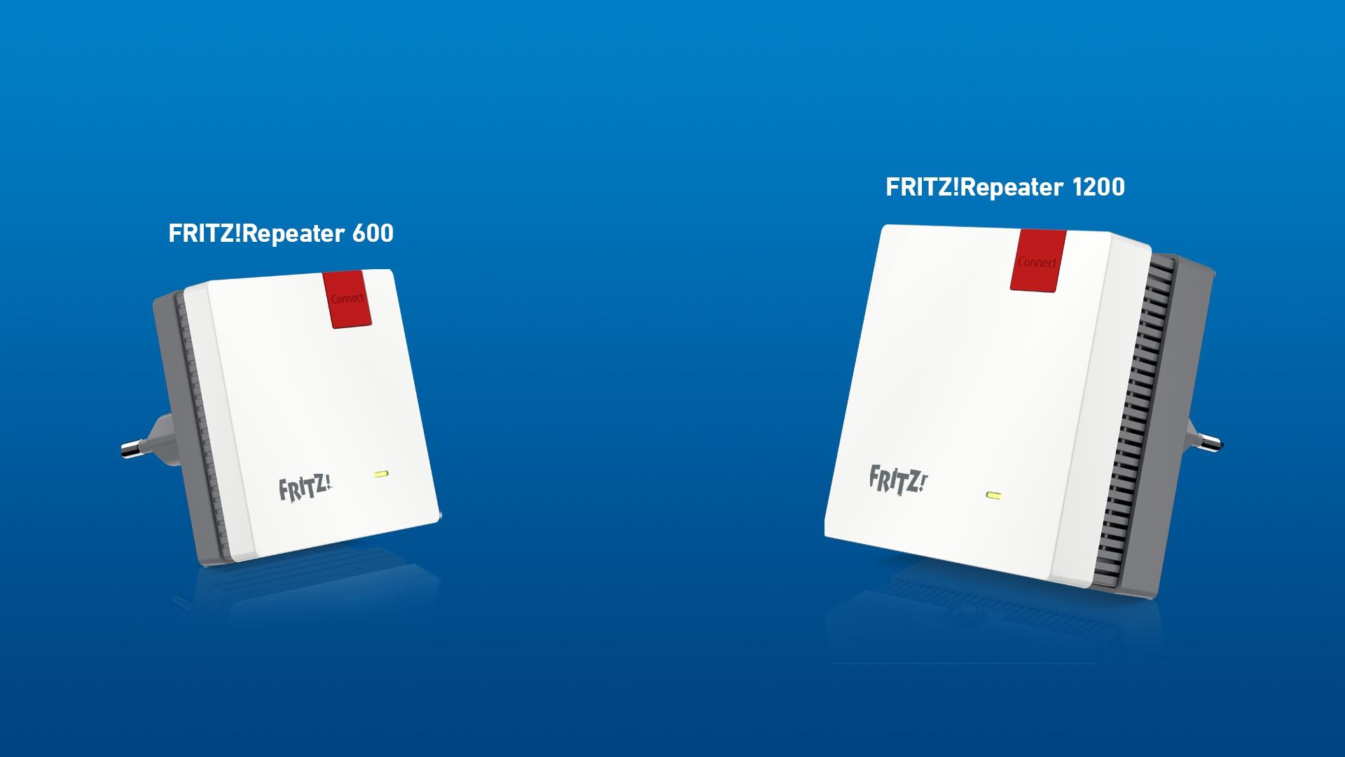Due nuovi FRITZ!Repeater per connessioni perfette nella rete Mesh