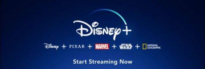 Disney+ arriva in Italia il 24 Marzo 2020