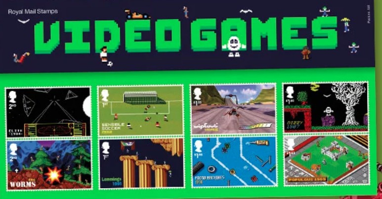 La Royal Mail celebra i videogames