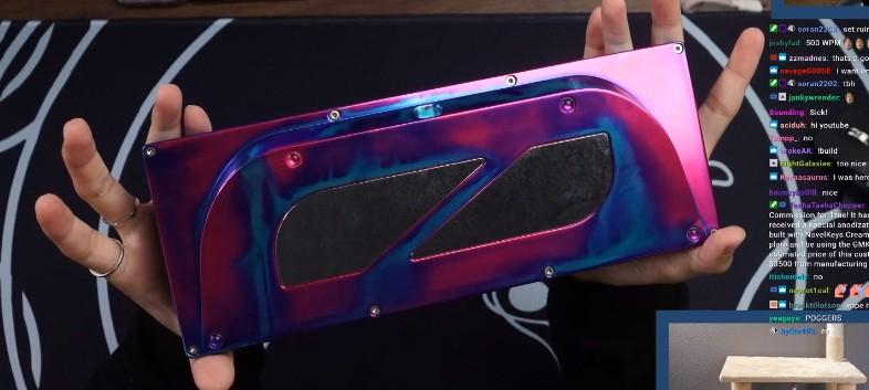 Una tastiera da 3000 dollari per Fortnite