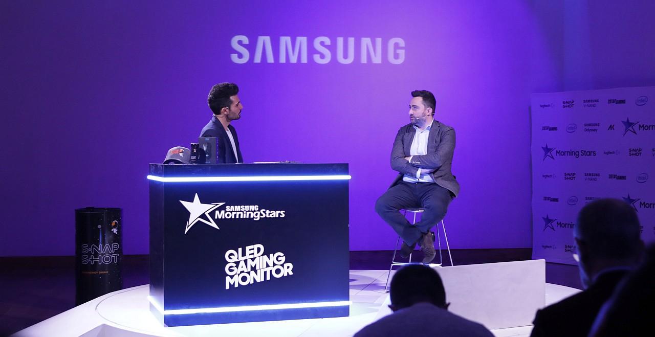 Samsung ha presentato la nuova line up del team esport Morning Stars
