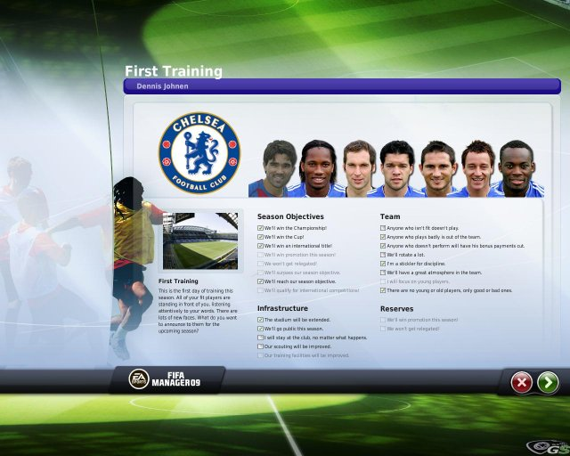 FIFA Manager 09 immagine 7474