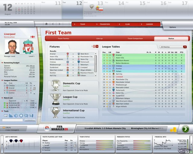 FIFA Manager 09 immagine 7475