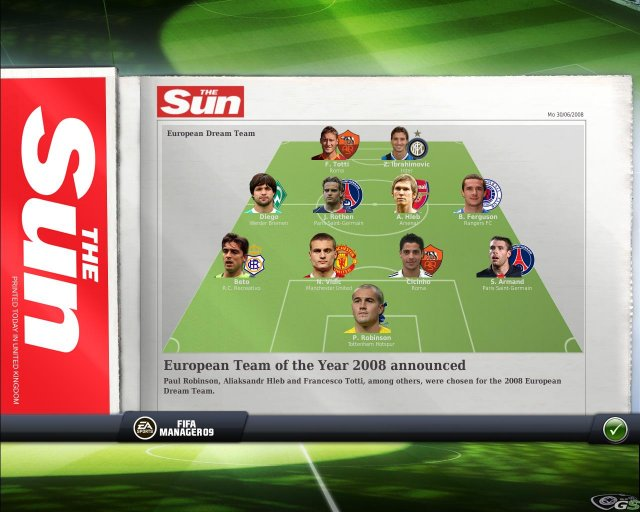 FIFA Manager 09 immagine 7477