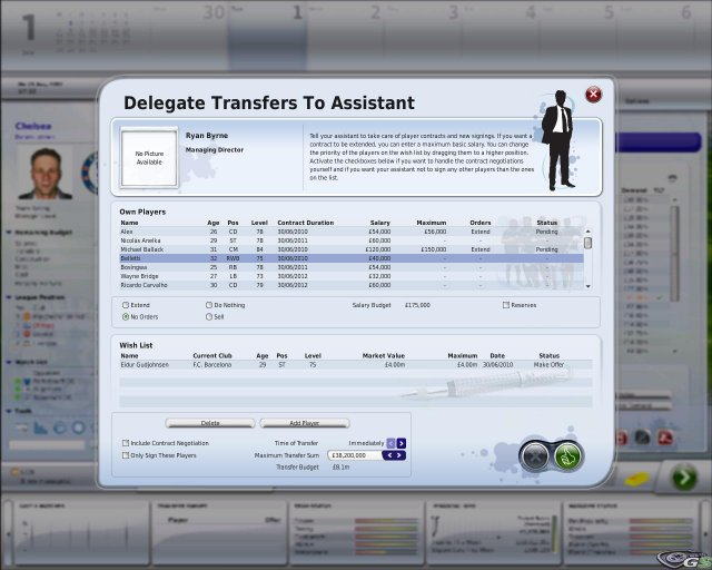 FIFA Manager 09 immagine 7478