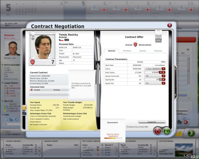 FIFA Manager 09 immagine 7479