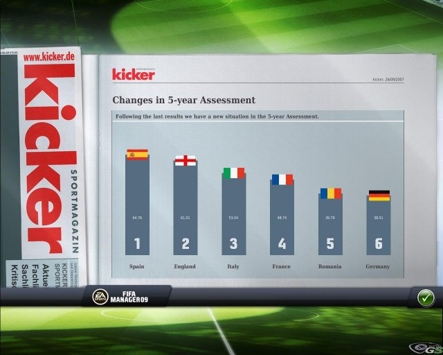 FIFA Manager 09 immagine 7482
