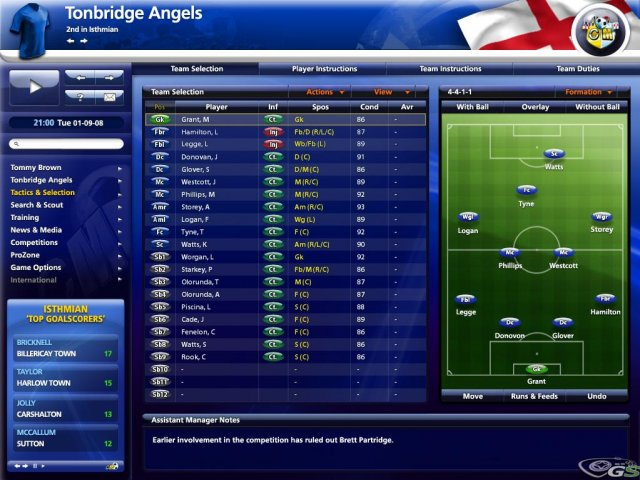 Championship Manager 2009 immagine 7443