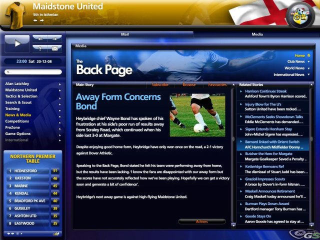 Championship Manager 2009 immagine 7444
