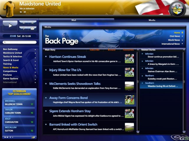 Championship Manager 2009 immagine 7445