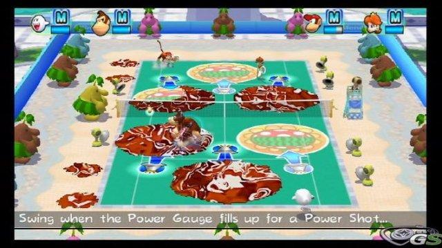 Mario Power Tennis immagine 9756