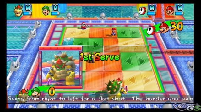 Mario Power Tennis immagine 9762