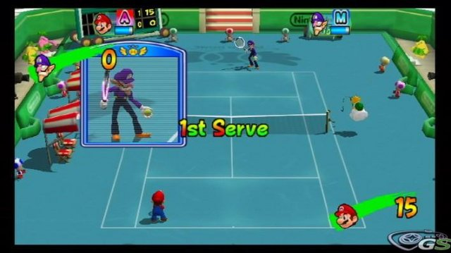 Mario Power Tennis immagine 9765