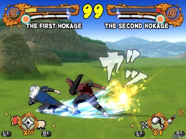 Ultimate Ninja 4: Naruto Shippuden immagine 11001