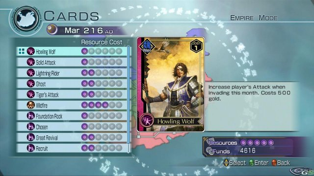 Dynasty Warriors 6 Empires immagine 15103