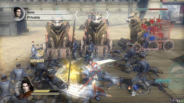 Dynasty Warriors 6 Empires immagine 15104