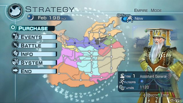 Dynasty Warriors 6 Empires immagine 15106
