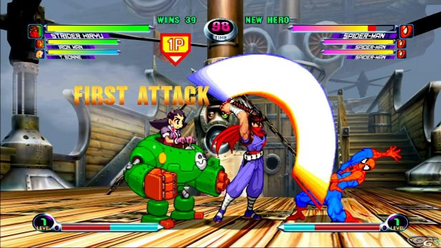 Marvel vs Capcom 2 - Immagine 17925