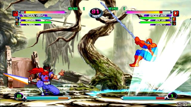 Marvel vs Capcom 2 - Immagine 17927
