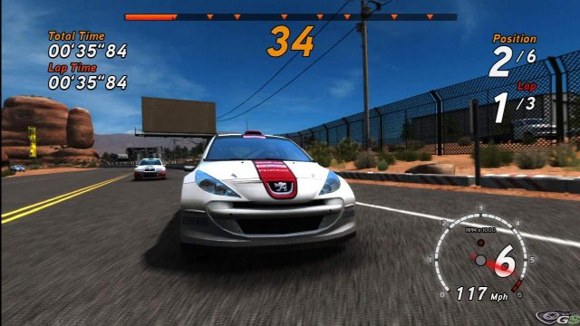 Sega Rally Online Arcade immagine 37524