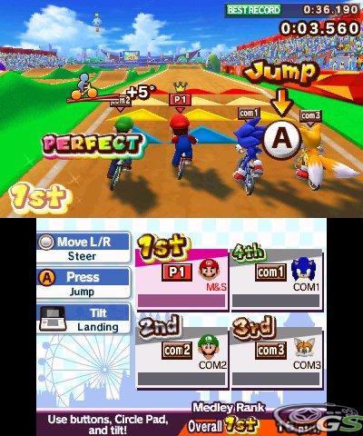 Mario & Sonic ai giochi olimpici di Londra 2012 - Immagine 63032