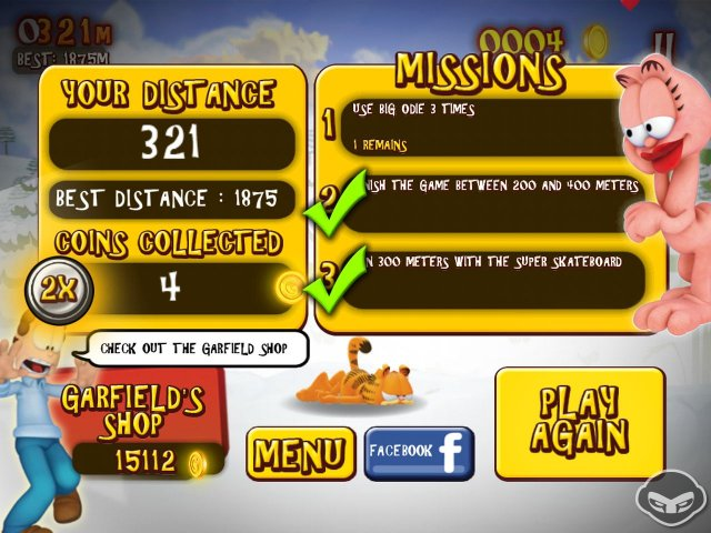 Garfield's Wild Ride immagine 78233