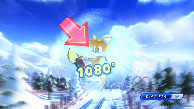 Mario & Sonic at the Sochi 2014 Olympic Winter Games immagine 94781