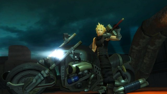 Final Fantasy VII G-Bike immagine 116360