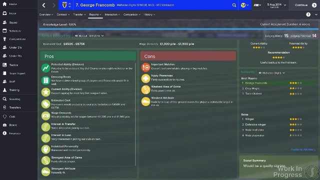 Football Manager 2015 immagine 130499