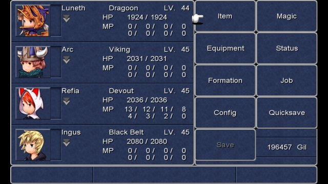 Final Fantasy III immagine 113238