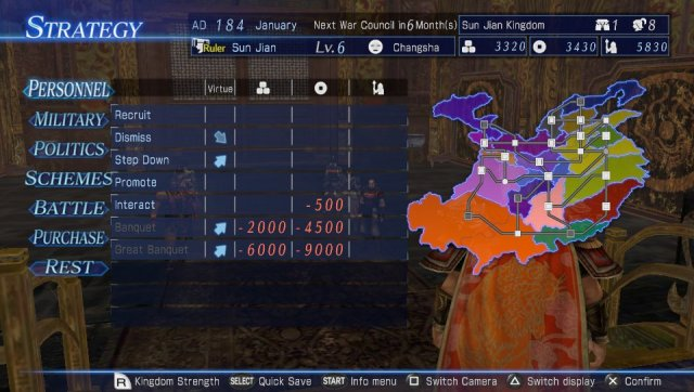 Dynasty Warriors 8: Empires - Immagine 168163