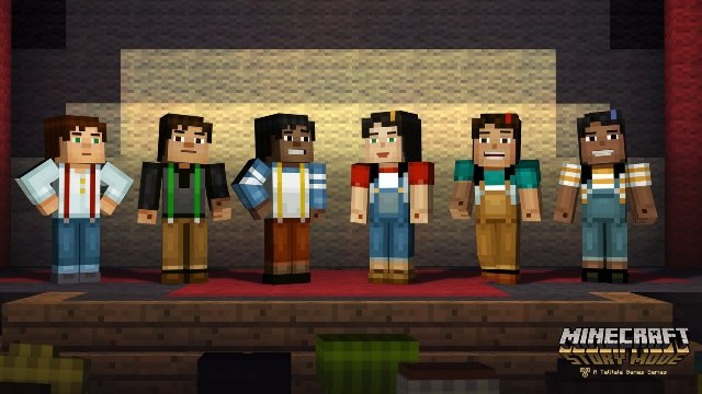 Minecraft Story Mode - Episode 1: The Order of Stone immagine 163351