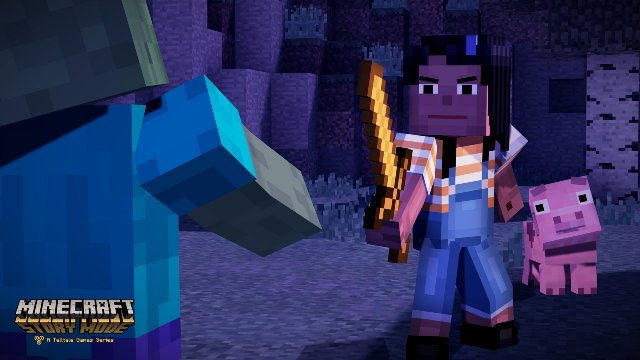Minecraft Story Mode - Episode 1: The Order of Stone immagine 163387