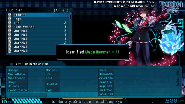 Operation Abyss: New Tokyo Legacy immagine 143244
