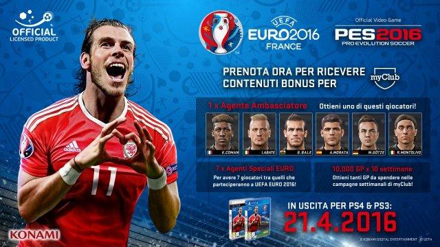 Pro Evolution Soccer 2016 - UEFA Euro 2016 immagine 180282