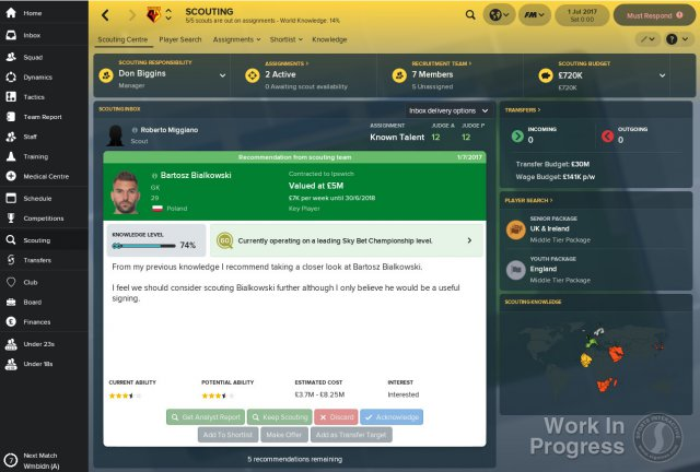 Football Manager 2018 - Immagine 8 di 8